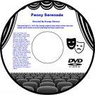 Penny Serenade 1941 DVD Romance Drama Film Cary Grant Irene Dunne Beulah Bondi