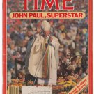 Time Magazine October 15 1979 John Paul, Superstar Special: An Album of His Journey