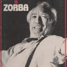 Anthony Quinn is ZORBA [ Program ]