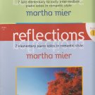 Reflections book 1 & 2 by Martha Mier-piano solos