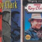 ROY CLARK CASSETTE LOT (2)