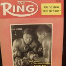 RING Magazine July 1958 Floyd Patterson on the Cover
