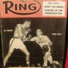 THE RING magazine May 1958 Ray Robinson vs. Carmen Basilio