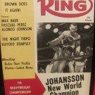 Ring Magazine: August 1959  Ingemar Johansson & Floyd Patterson