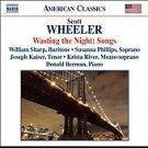 Scott Wheeler: Wasting the Night: Songs by Donald Berman   by S. Wheeler  UPC: 636943965825