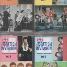 The British Invasion (The History of British Rock) cassette lot