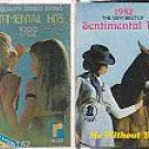 SENTIMENTAL HITS 1982 (2) OLDIES CASSETTE LOT