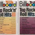 BILLBOARD TOP ROCK N ROLL HITS 1960 & 1971 CASSETTE LOT