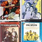 THE INKSPOTS- BEST OF, GREATEST HITS, SINCERELY YOURS  (8 cassettes)