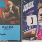 BILLY IDOL CASSETTES (2) REBEL YELL & CHARMED LIFE