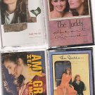 AMY GRANT (2) & THE JUDDS (2) CASSETTES