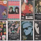 DARYL HALL & JOHN OATES CASSETTE LOT (10)
