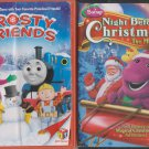 HIT Favorites: Frosty Friends  &  Barney: Night Before Christmas - The Movie