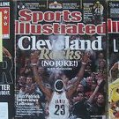 LEBRON JAMES MAGAZINE LOT (3) SPORTS ILLUSTRATED CLEVELAND ROCKS & MORE