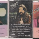 bob seger cassette lot-live bullet-night moves-stranger in town
