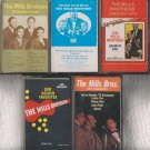 The Mills Brothers Cassette Lot-The Four Kings of Harmony