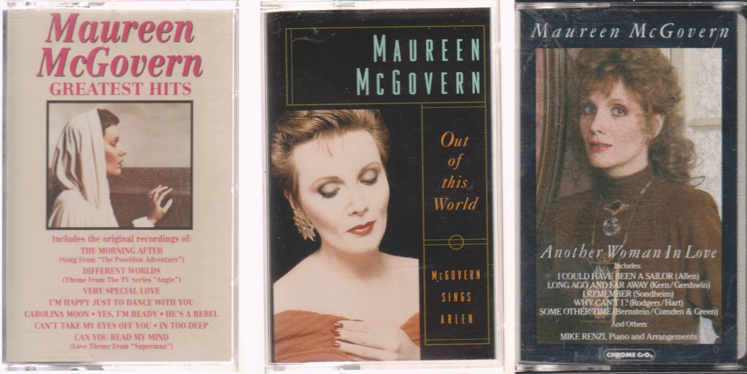 Greatest Hits & OUT OF THIS WORLD-ANOTHER WOMENS IN LOVE- Maureen McGovern