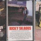 Ricky Skaggs Cassette Lot