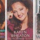 KAREN WHEATON CASSETTE LT (3)-MIRACLE IN MOTION-PROMISE-PENTECOSTAL FIRE