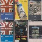 THE WHO'S CASSETTE LOT (6)
