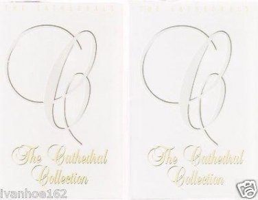 THE CATHEDRALS COLLECTION VOLUME 2 & 4 CASSETTES