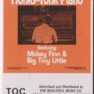 honky tonk piano- mickey finn  cassette