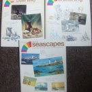 1972 SKYLIGHT STUDIO KEYS TO SKETCHING,SEASCAPES,STILL LIFE ART BOOKS