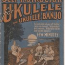 At a Glance Illustrated Self Instructor for Ukulele and Ukulele Banjo