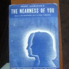 The Nearness of You - Hoagy Carmichael