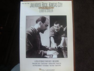 Jailhouse Rock Kansas City and Other Hits - Leiber and Stoller -  Hal Leonard Corp