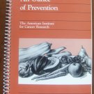 An Ounce of Prevention: Fall Volume (AICR Cookbook Series) by American Institute for Cancer Research