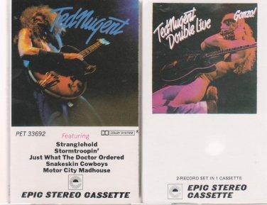 Ted Nugent Cassette Lot (2.99)