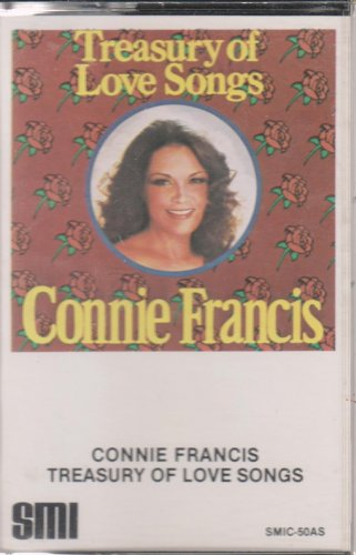 Connie Francis Treasury of Love Songs Cassette (1.99)