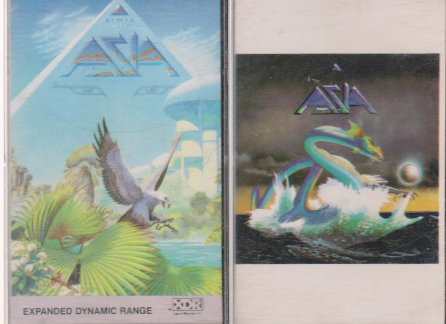 ASIA CASSETTE TAPES LOT OF 2 (2.99)