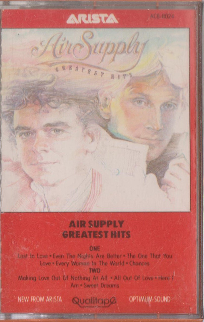 Air Supply Greatest Hits