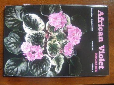 african violet magazine September/October 2011