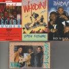 Whodini Cassette Lot (4) rap/hip-hop