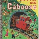 The Little Red Caboose-Little Golden Book