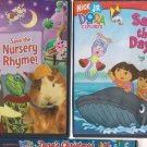 NICK JR. DVD LOT-SAVE THE NURSERY RHYME-DORA SAVES THE DAY-DORA'S CHRISTMAS
