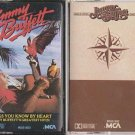 Songs That You Know By Heart & Changes in Attitudes by Jimmy Buffett CASSETTE