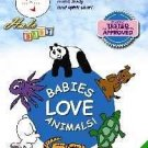 HALO BABY BABIES LOVE ANIMALS DVD