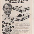 1982 JAGUAR BOB TULLIUS  --QUAKER STATE magazine ad