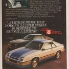 1984 Dodge Shelby Charger - Live The Legend - Car Ad