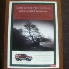 1997 ISUZU TROOPER ORIGINAL VINTAGE AD