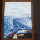 1997 Buick Park Avenue - blue - Classic Vintage Advertisement