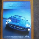 1997 Jaguar XK8 290hp V8 Classic Vintage Advertisement