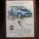 Oldsmobile Silhouette Vintage Magazine advertisement