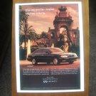 1997 Infiniti Q45 Sedan - Classic Vintage Advertisement Ad