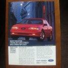 Ford Taurus SHO - Classic Vintage Advertisement Ad