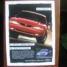 1995 Ford Mustang GT Vintage Print Ad